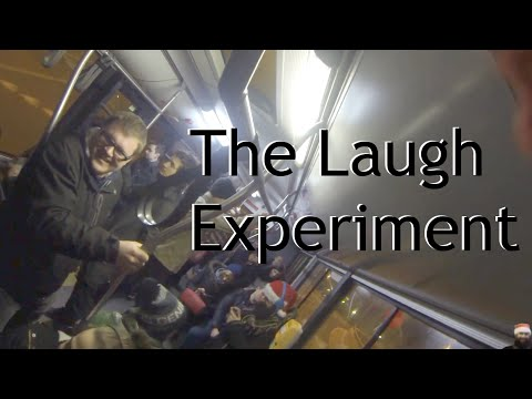 Video: Guy enters the bus and start to laugh - Watch the reaction of passengers