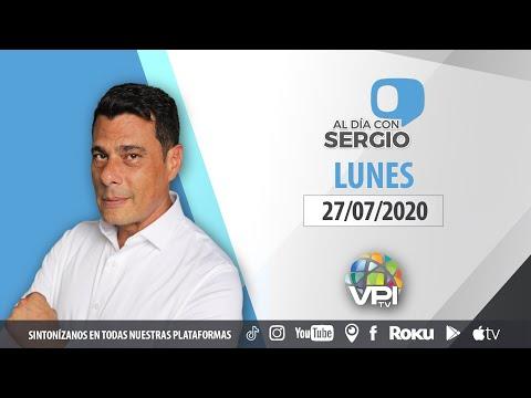 EN VIVO - Al Día con Sergio Novelli - Lunes 27 de Julio