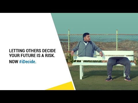 iDecide - I choose what's best for my family's future.