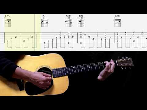 Here Today - Paul McCartney Guitar TAB