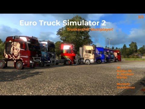 Euro Truck Simulator 2  TruckersMP  Part 35 Livestream 25112017