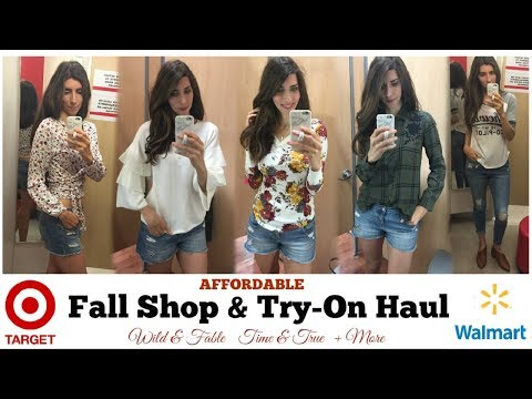Fall Clothing Try-On Haul Target & Walmart Affordable Fall Clothing | Momma From Scratch