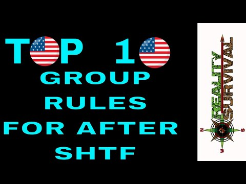 Top 10 Group Rules For Survival After SHTF