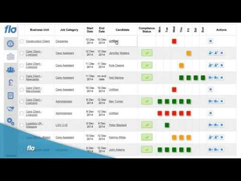 Flo  Timesheet and Payroll Management Software for Temporary Workers