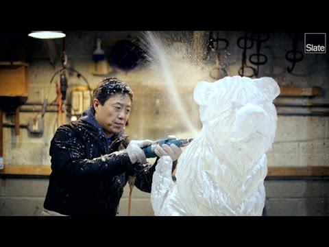 Inside an Ice Sculptor's Studio