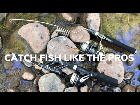 The Best Ultralight Backpacking Fishing Rods - These ROCK!