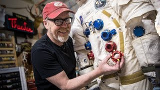 Adam Savage's Newly Machined Spacesuit Parts!