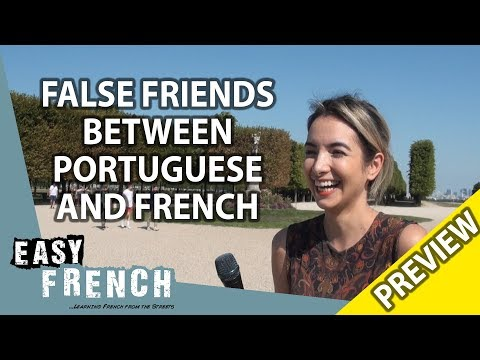 How similar are French and Portuguese? (Trailer) | Easy French 89 photo
