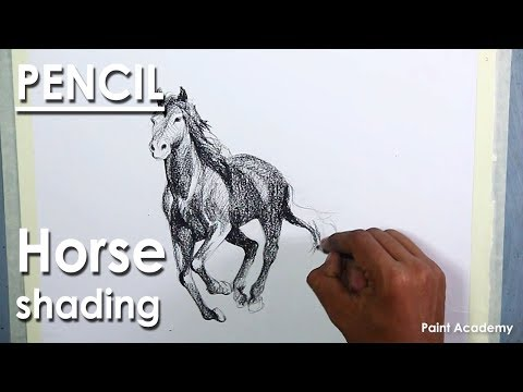 Learn How to Draw & Shade A Horse | Pencil Drawing Techniques