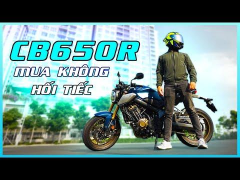 CB650R 2021 - Chiếc xe đáng mua nhất trong phân khúc 600 phân khối tại Việt Nam