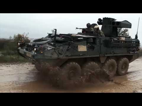 National Guard l Stryker Combat Vehicle