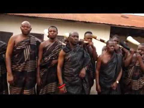 Traditional Trumpet Tribute for Asantehemaa on Adom TV (17-1-17)