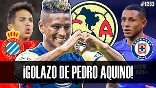 ¡GOLAZO de PEDRO AQUINO con AMÉRICA! | ALESSANDRO BURLAMAQUI | YOSHIMAR YOTÚN | LUIS ADVINCULA 2021