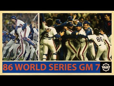 1986 World Series Game 7! (Highlights from the EPIC final game of an incredible series)