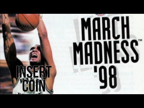March Madness '98 (1998) - PlayStation - Michigan vs Auburn