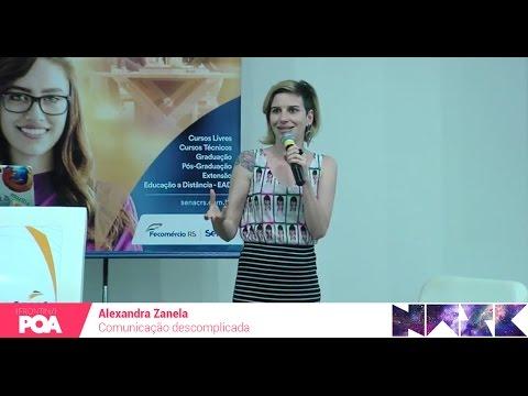 Front in POA 2016 - Alexandra Zanela - Comunicação descomplicada