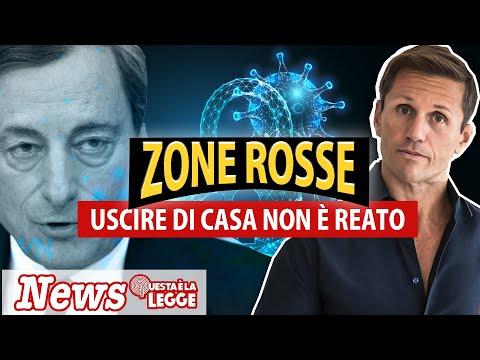 ZONE ROSSE: uscire di casa non è REATO  | Avv. Angelo Greco