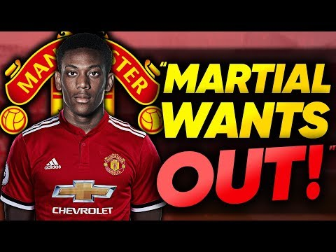 Should Manchester United FORCE Unhappy Anthony Martial To Stay At The Club?!   Continental Club