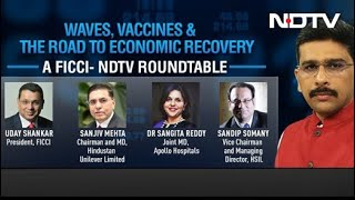 Coronavirus Waves, Vaccines And Economic Recovery: A FICCI-NDTV Roundtable - NDTV