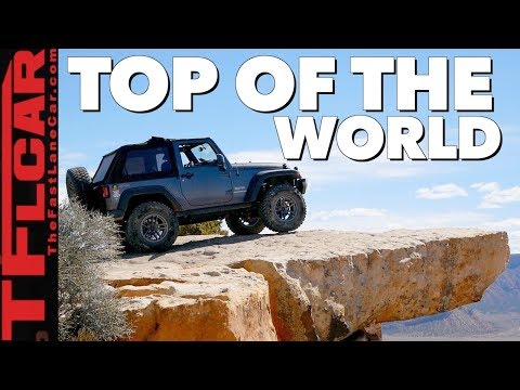 Driving a Jeep Wrangler to Top of the World!