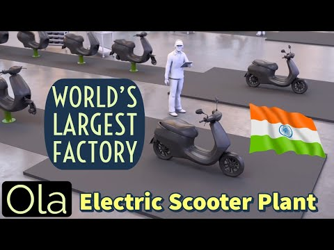 Ola Electric Scooter Manufacturing Unit in India 🔥🔥