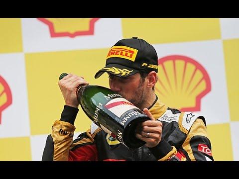 "F1 - Romain Grosjean, sauveur d'Enstone "" - F1i TV"