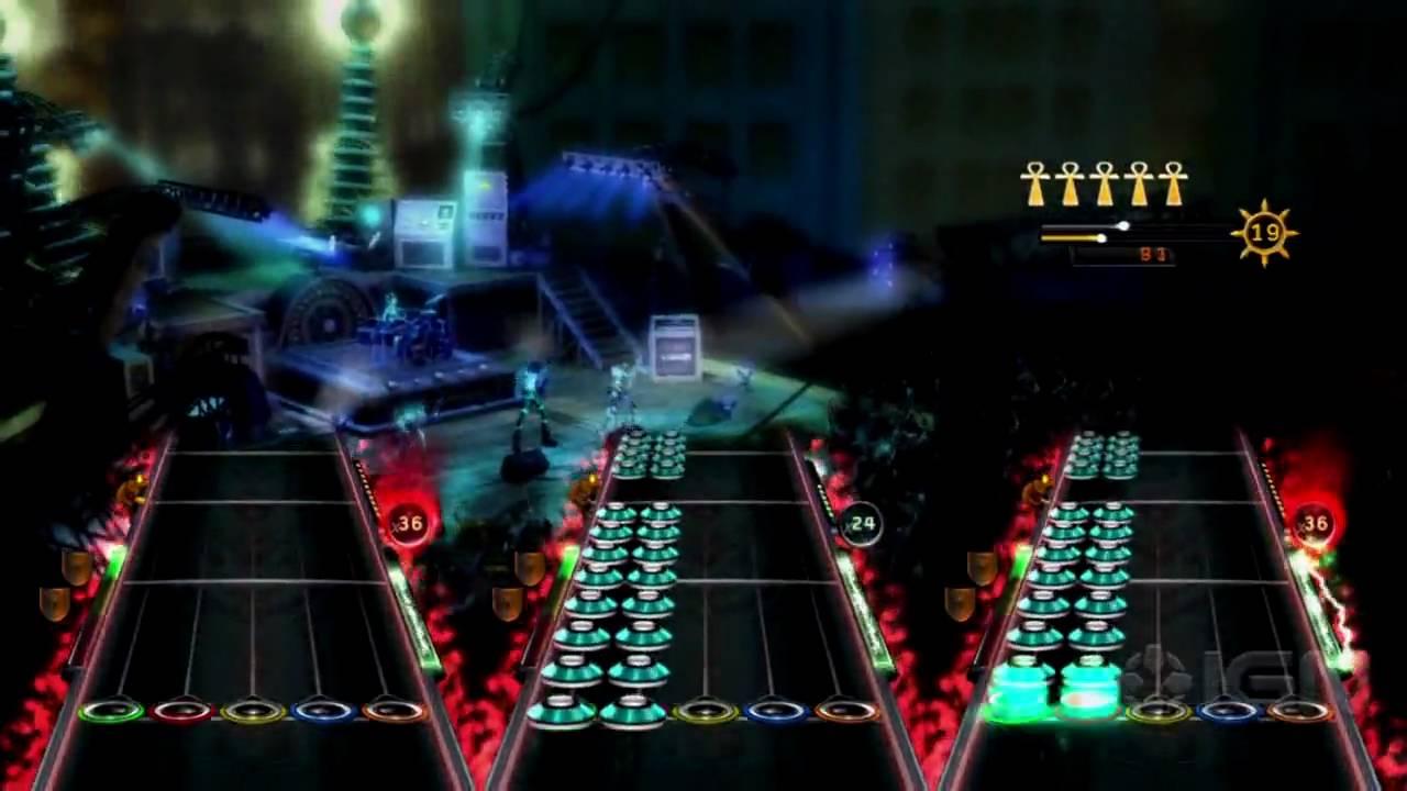 Guitar Hero: Warriors of Rock Demo  - IGN Live E3 2010