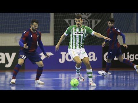 Real Betis Futsal - Levante U D  Jornada 7 Temp 20-21