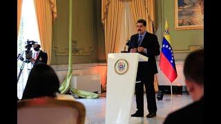 Rueda de prensa de Nicolás Maduro con medios internacionales, 28 octubre 2020