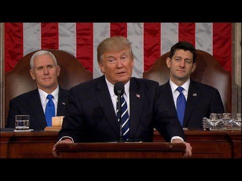Trump talks of 'renewal of the American spirit' in speech to Congress   ABC News