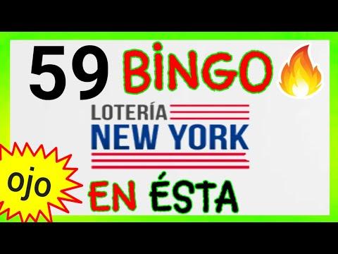 Loteria NEW YORK NOCHE (( 59 )) BINGO HOY / SORTEOS de las LOTERÍAS/ NÚMEROS FUERTES para HOY...!!
