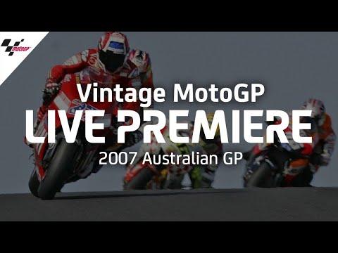 2007 #AustralianGP | Vintage MotoGP