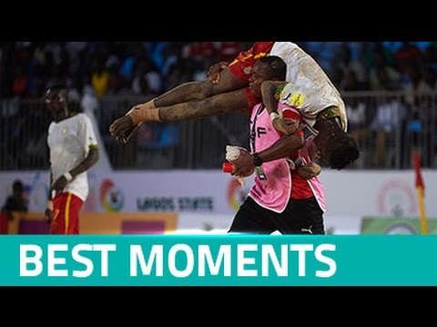 BEST MOMENTS: CAF Beach Soccer Africa Cup of Nations Nigeria 2016