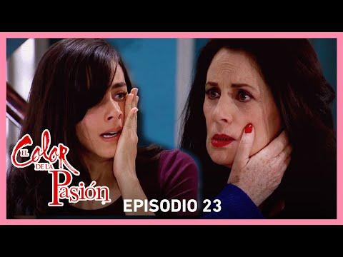 El color de la pasión: Milagros insulta a Lucía | C-23 | Tlnovelas