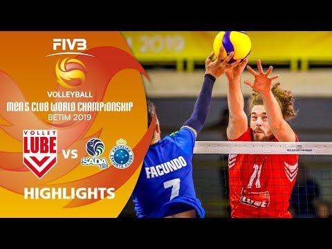 Final: Lube Volley vs. Sada Cruzeiro - Highlights | Men's Volleyball Club World Champs 2019