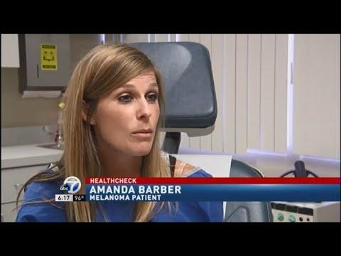 Amanda Barber, Skin Cancer Patient of Dr. Lindsay Enns