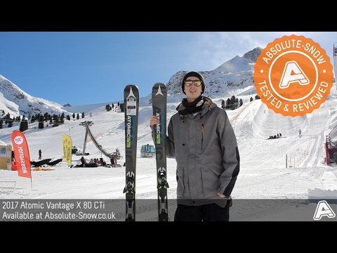 2016 / 2017 | Atomic Vantage X 80 CTi Skis | Video Review