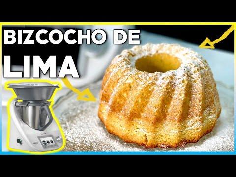 BIZCOCHO de LIMA y ARBEQUINA THERMOMIX