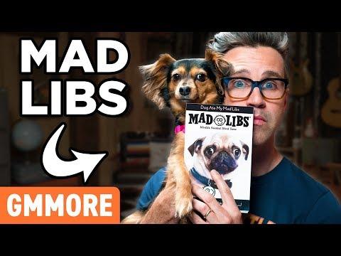 Dog Mad Libs
