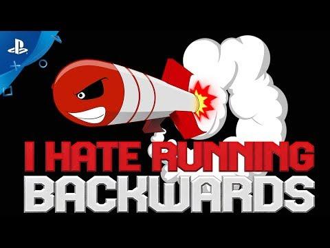 I Hate Running Backwards – Release Date Trailer | PS4
