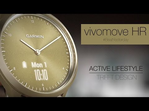 vívomove™ HR - Active Lifestyle trifft Design