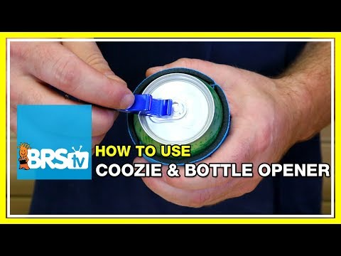 How to use your BRS Coozie and Bottle Opener | BRStv How-To