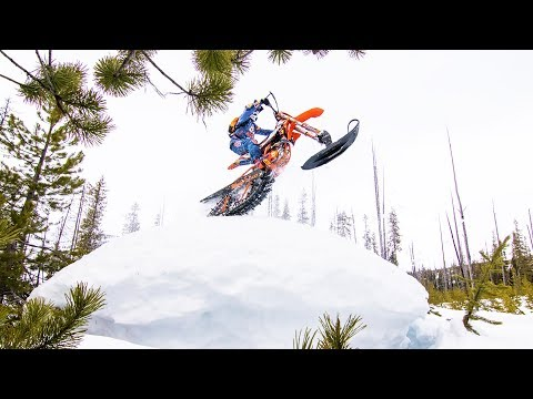 Shredding the Birthplace of Snowbiking | Powder HoundsE1