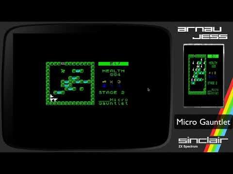 Micro Gauntlet ZX Spectrum by IvanBasic
