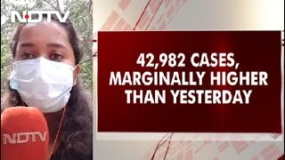 Covid-19 Cases Updates: 42,982 Fresh COVID-19 Cases In India, Marginally Higher Than Yesterday - NDTV