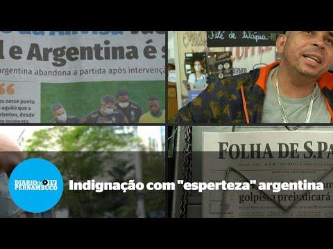 Brasileiros se dizem indignados com esperteza dos argentinos em eliminatória da Copa