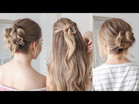 3 Easy Bun Styles | Missy Sue