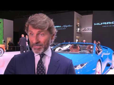 Stephan Winkelmann, IAA 2015: Lamborghini Huracán LP 610-4 Spyder