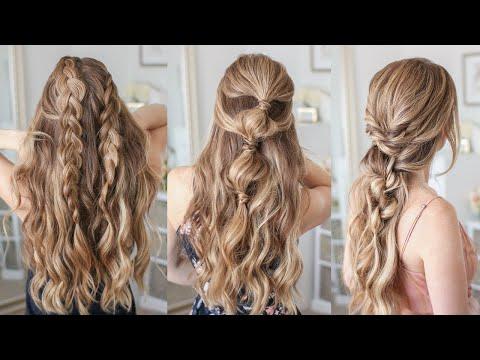 3 Half Up SUMMER Hairstyles   Missy Sue