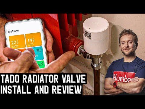 PROGRAMMABLE SMART THERMOSTATIC RADIATOR VALVES - TADO°  Review